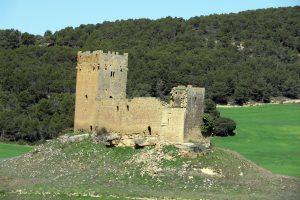 El castillo de Yecra, o Yéquera, es otro de los escenarios de El alguacil