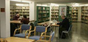 Una biblioteca pública