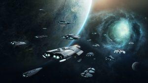 Un gobierno galáctico militarista y expansionista