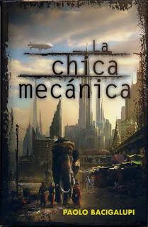 Mejores novelas de fantasía y ciencia ficción: La chica mecánica