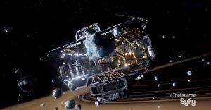 Minería espacial en The Expanse