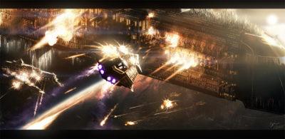 Armamento espacial e Imperio Galáctico
