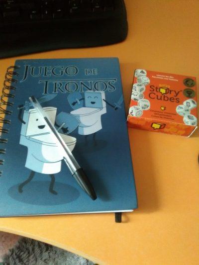El cuaderno de escritor