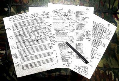 Corregir el borrador de tu novela