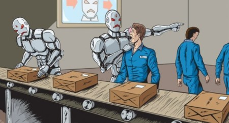 Trabajo humano en peligro